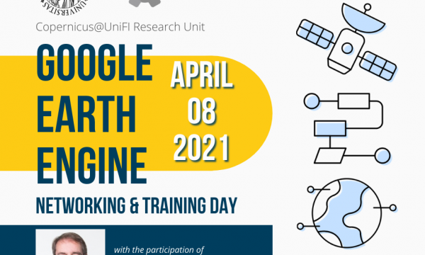 Google Earth Engine networking and training day